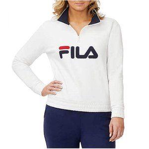 Fila Women's 1/4 Zip Pullover Sweatshirt